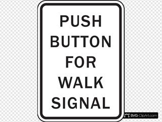 Push Button For Walk Signal
