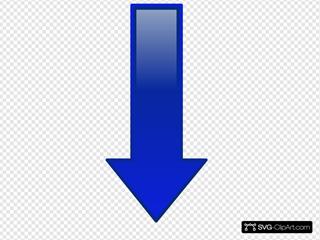 Arrow-down-blue