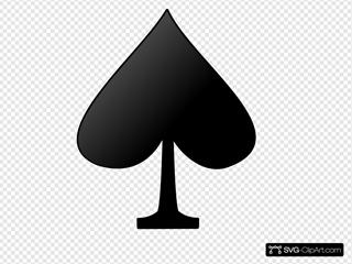 Card Figures - Spade