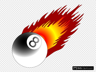 Ball With Flames 3