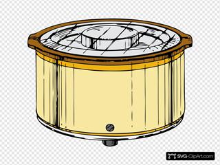 15+ Animated Crock Pot Clipart