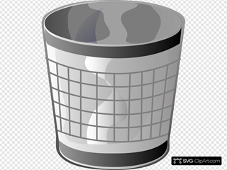 Empty Trash Bin