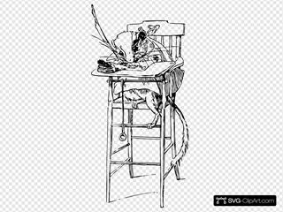 Gerbil In A Chair