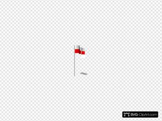 Michaelin Flag Poland Wind