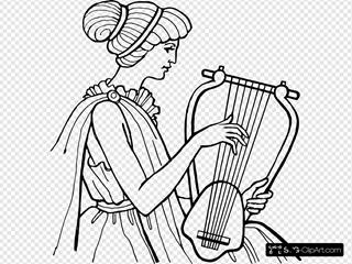 Lyre Musical Instrument