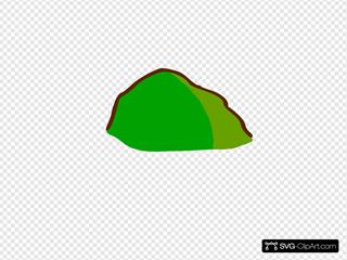 Rpg Map Symbols Hill Colored