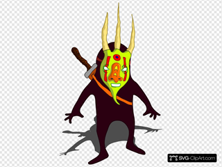 Ninja With Mask