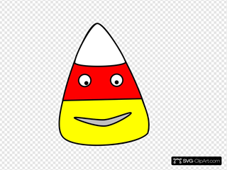 Candy Corn Character