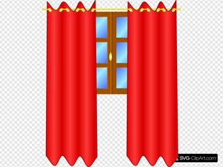 Window With Draperies