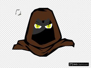 Hooded Cartoon Character 2
