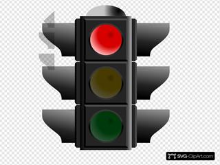 Traffic Light: Red