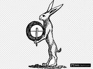 Rabbit With Drum