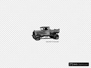 Old Truck Indana Model