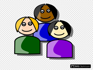 Girls Cartoon