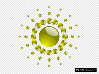 Sun With Spherical Sunrays
