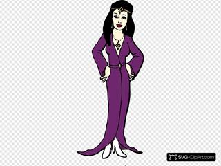 Cartoon Priestess