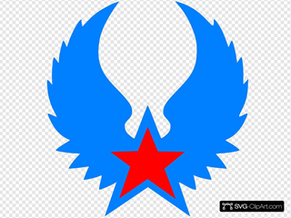 Red Star Blue Wings