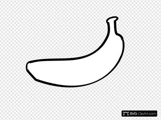 Banana Outline