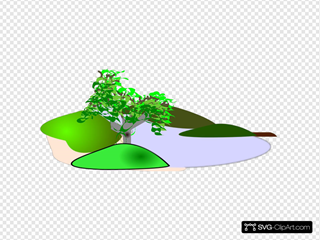 Simple Scenery SVG Clipart