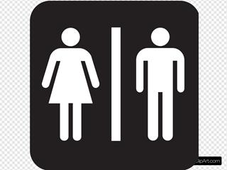 Men Women Bathroom 2