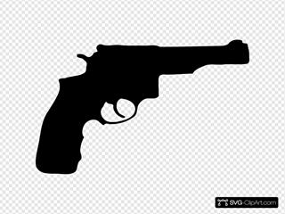 Pistol Silhouette