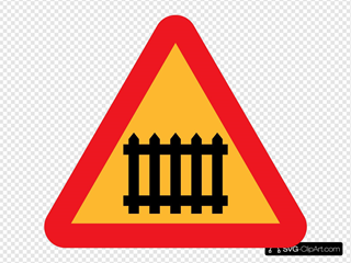 Fence Gate Roadsign