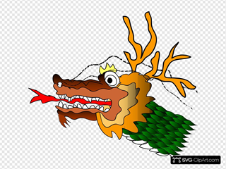 Chinese Dragron SVG Clipart