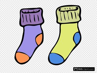 And Socks Clip Svg Clipart Xizokpu Articon YvbI76gmfy