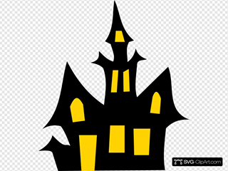 24+ Haunted House Halloween Svg DXF