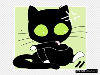 Antontw Black Cat
