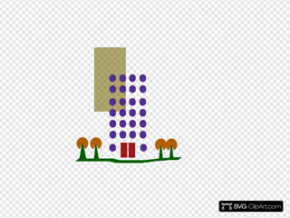 Housing Flat SVG Clipart