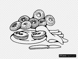 Bakery Breakfast Bagels