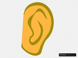 Ear - Gold