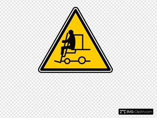 Fork Lift Sign