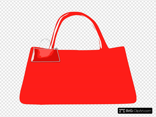 Leather Purse SVG Clipart