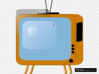 Old Styled Tv Set