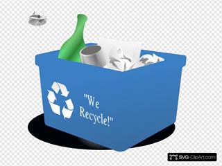 Recycling Box 3d