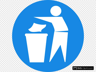 Doctormo Put Rubbish In Bin Signs