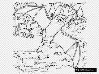 Coloring Book Ozark Big Eared Bat