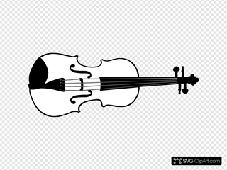 Violin (b And W)