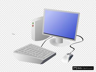 Dtrave Cartoon Computer And Desktop