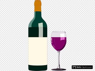 Bottiglia Di Vino Pregiato