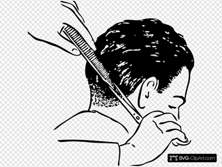 Shears And Comb Barber