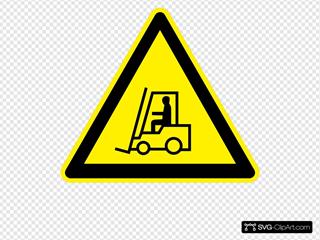 Sign Fork Lift Trucks