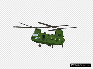 Army Chopper Chinook