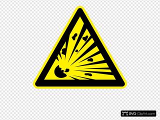 Sign Explosion Risk