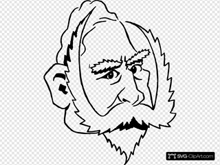 Cartoon Kaiser Wilhelm