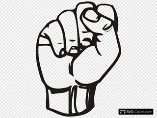 Sign Language S Fist