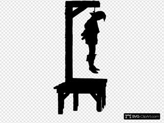 Swinging Hanged Dead Corpse