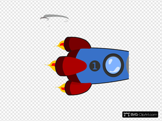 Rocket 9 Clipart